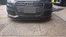 S1 スポーツバックTriple R Composites Audi S1 Front Splitterの全体画像