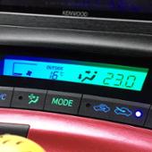 トヨタ(純正) エアコンパネル