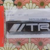 TRD / トヨタテクノクラフト TRDカ-ボンエンブレム