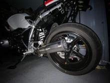 R nineT RacerVANCE & HINES スリップオンマフラーの単体画像