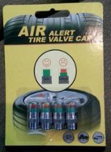 中華製 バルブキャップ タイヤ空気圧警告付き