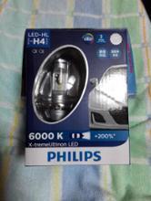 グース350PHILIPS X-treme Ultinon LED H4 LED Headlight 6000Kの単体画像