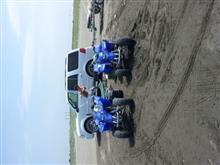 アメ車とジェットとポメラニアンさんのYF200S 左サイド画像