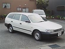 まる901さんの愛車:トヨタ カルディナバン