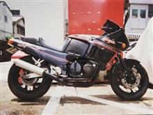 ラッチ。さんのGPX400R 左サイド画像