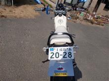 オヤジーノさんのTW225E リア画像