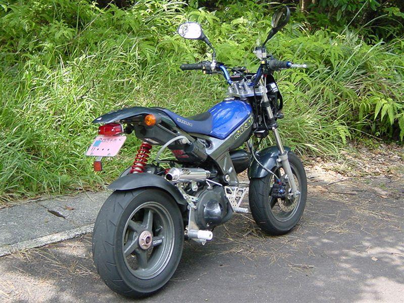 スズキ ストリートマジックII110