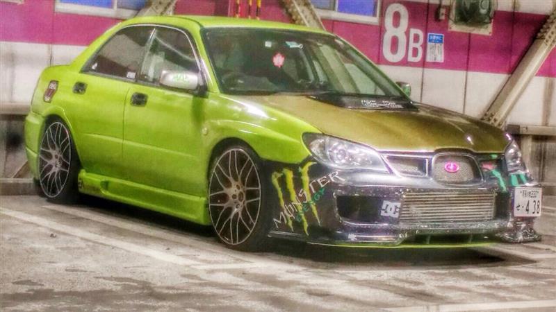 スバル インプレッサ WRX STI