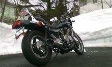 ヒサブサ★BMW116iさんのエリミネーター400 リア画像