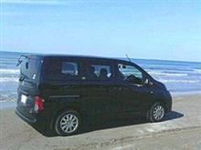 黒と黒さんの愛車:日産 NV200バネット