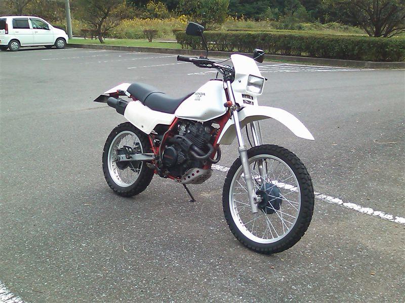 I.O.C 長田さんのXLX250R