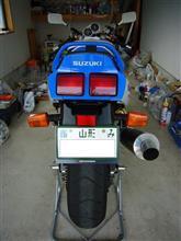 さよちゃんさんのGSX-R1100 リア画像
