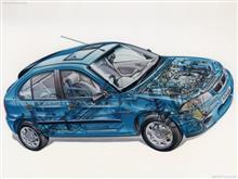 Shぃの・Carさんの200シリーズ ハッチバック 左サイド画像