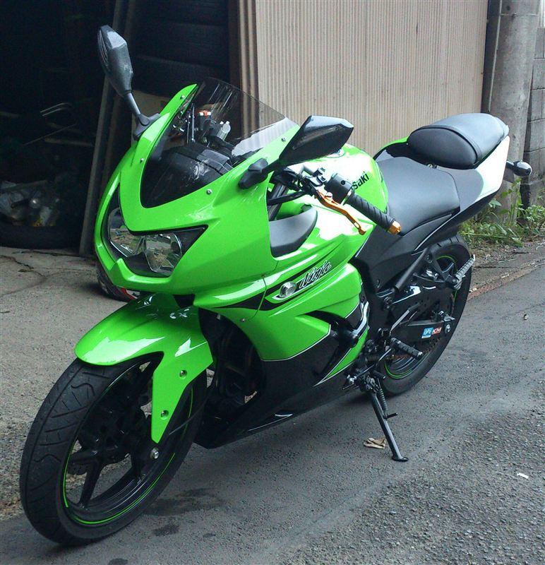 カワサキ Ninja250R