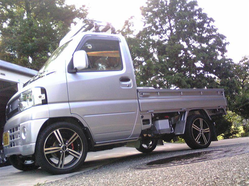 銀トラさんのミニキャブトラック