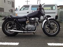 綾孝さんのXS650SP 左サイド画像