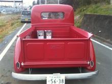 おだづもっこさんの'38 フォード ピックアップ リア画像