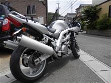くきおさんのSV1000S リア画像