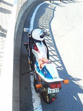 岡昇さんのCB1100RD リア画像