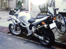 †蒼月†さんのSV400/S リア画像