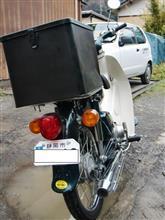 ぶらんさんのスーパーカブ50 SDX リア画像