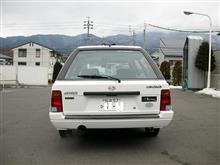 S4s (AL-5ホワイト)さんのレオーネツーリングワゴン リア画像