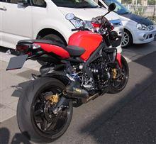 rider61さんのストリートトリプルRS リア画像