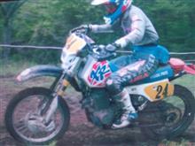 ジフさんのXR250R 左サイド画像