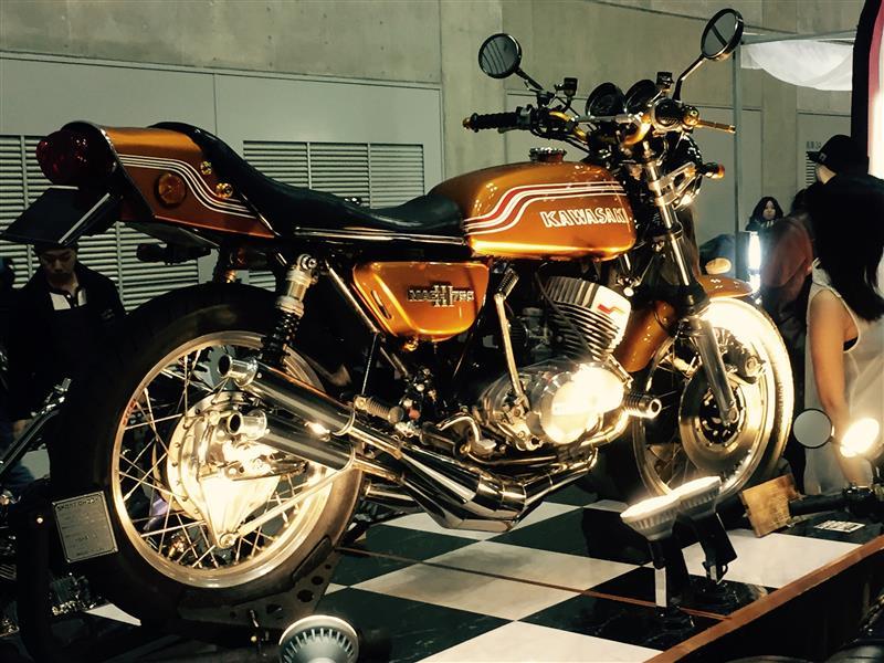 タクぽんさんの750SS Mach III (マッハ)