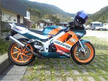 バイクオヤジGOGOさんのNSR150SP 左サイド画像