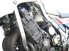 G-victoryさんのFZ750 インテリア画像