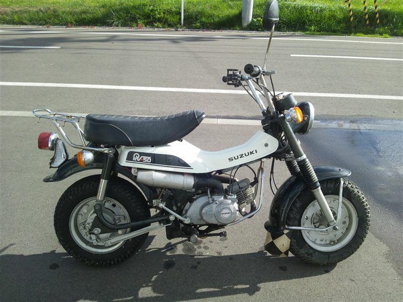 スズキ バンバン RV-50