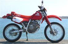 浜辺のうさぎさんのXLR250R 左サイド画像