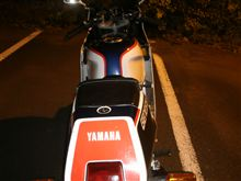 daikiTZRさんのFZR250 リア画像