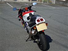 山梨のhiroさんのRVF400R リア画像