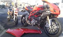 元Ducatistけんいちさんの999R インテリア画像