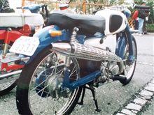 でりキチ三平(旧green.dodge)さんのスーパーカブ C100 左サイド画像