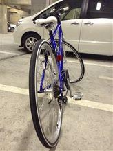 きらっちさんのクロスバイク リア画像