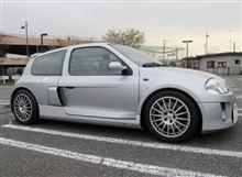 ラモーさんのクリオ V6 ルノー スポール  (ルーテシア) 左サイド画像