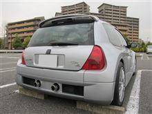 ラモーさんのクリオ V6 ルノー スポール  (ルーテシア) リア画像