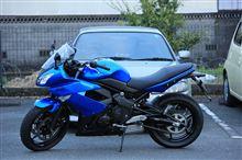 だい 青BMアクセラと忍者400さんの愛車:カワサキ Ninja400R