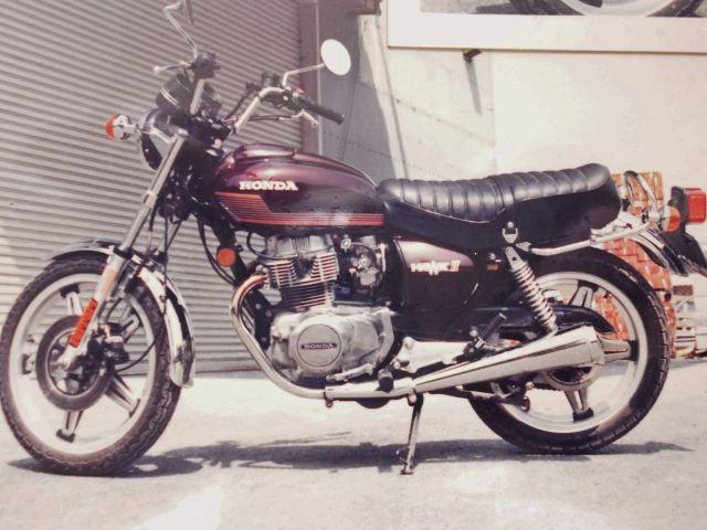 CB400T HAWK II (ホーク2)(ホン...