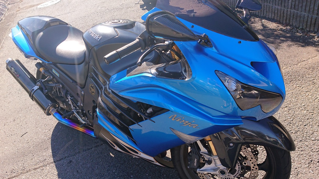 HIDE89さんのZX-14R
