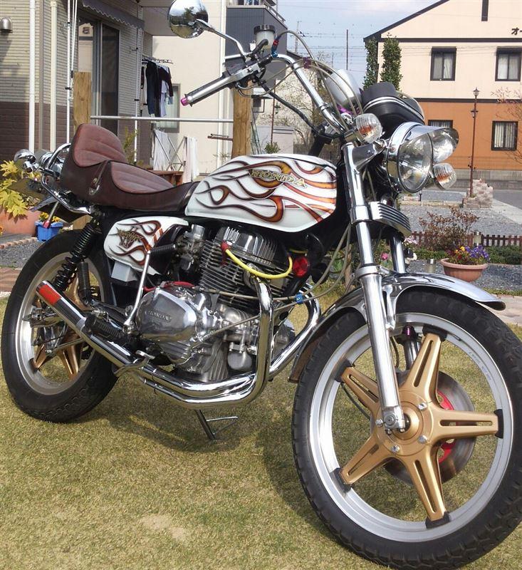 custom.KKさんのCB250T