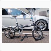 エビナスさんの折畳自転車