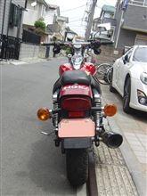 えるうぇいさんのエリミネーター125 リア画像