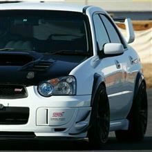 我茶さんの愛車:スバル インプレッサ WRX STI