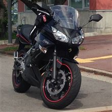 bizjetさんの愛車:カワサキ Ninja400R