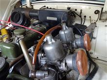 ELAN26Rさんのヒーレー・スプライト Mk-I リア画像