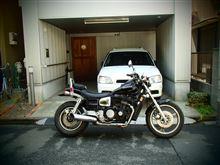 ぴしナビさんのエリミネーター900 左サイド画像